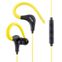 ACME HE17Y Sports & action earphones with microphone Yellow